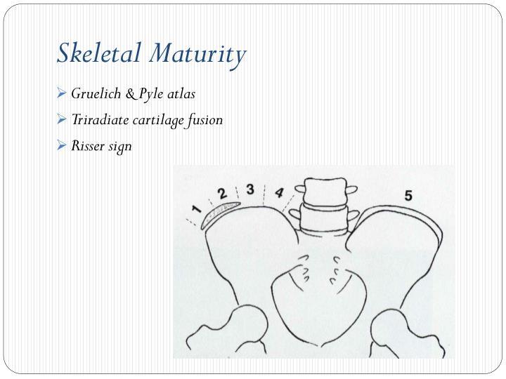 Skeletal Maturity