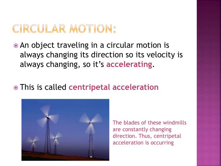 Circular Motion: