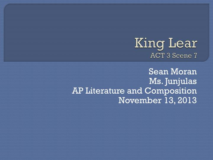 king lear act 5 scene 1 quotes essay