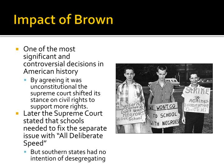 Impact of Brown