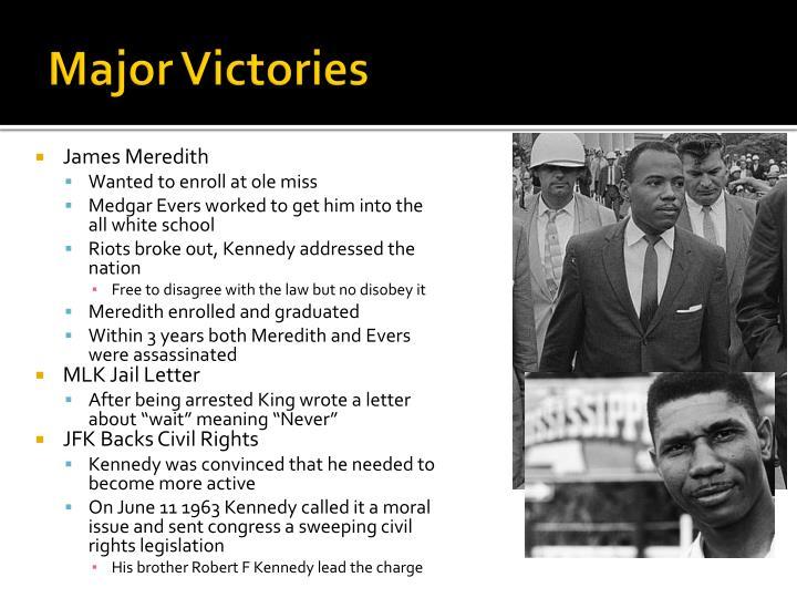 Major Victories