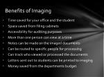 benefits of imaging
