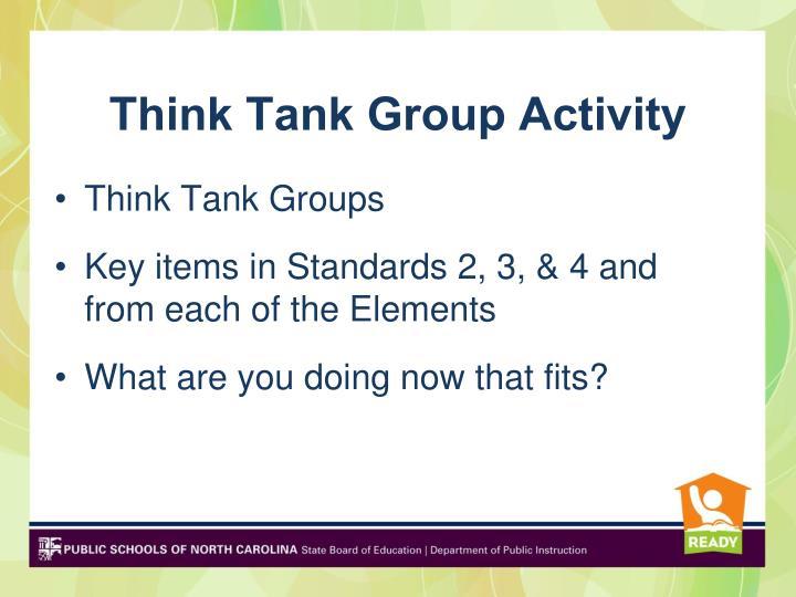 Think Tank Group Activity