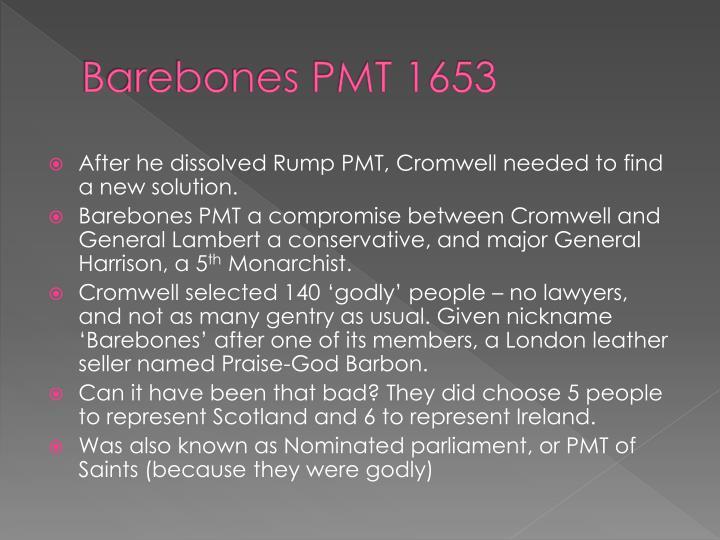 Barebones PMT 1653