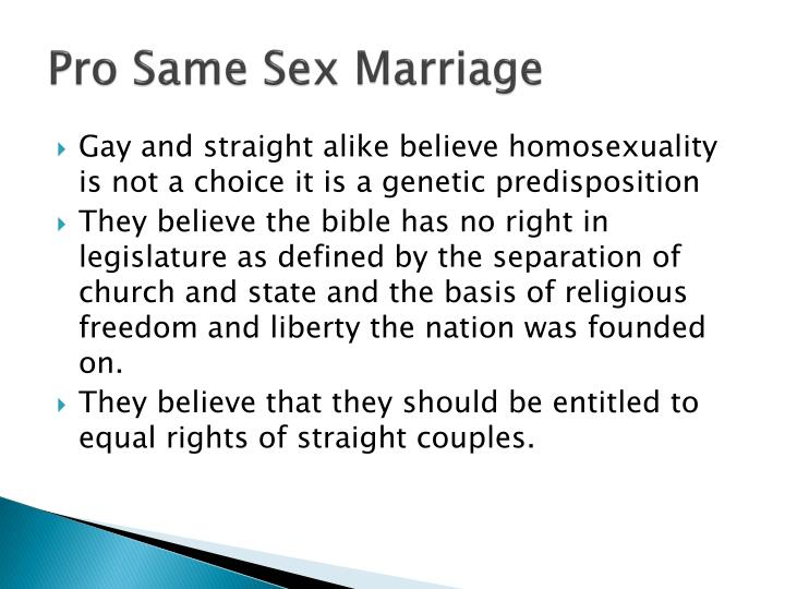 pros and cons of gay marriage essay The pros and cons of marriage today essay:: essay about the pros and cons of gay marriage - is it fair to be punished for loving a person of the same-sex.