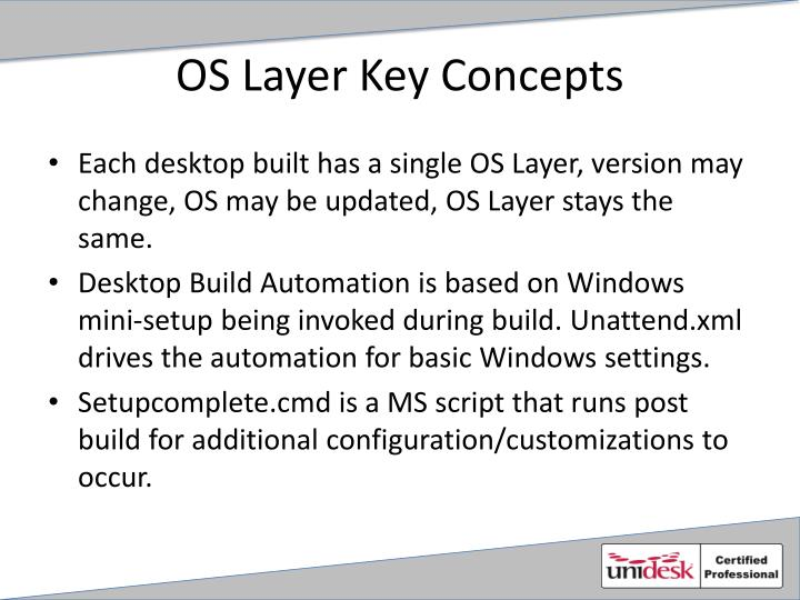 OS Layer Key Concepts