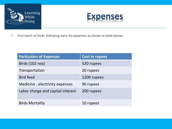 Expenses