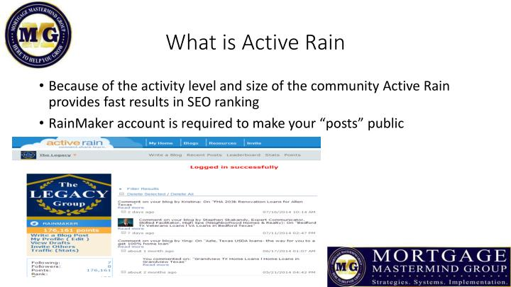 What is Active Rain