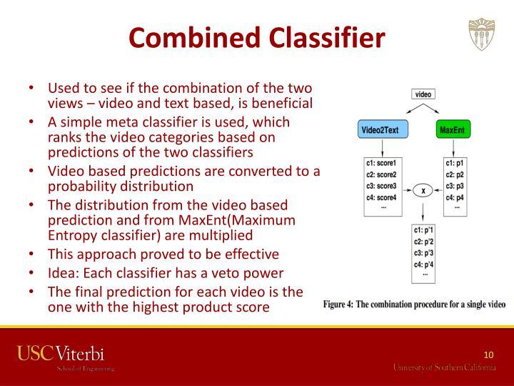 Combined Classifier