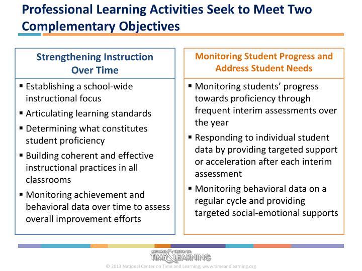 Establishing a school-wide instructional focus