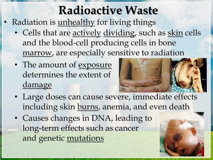Radioactive waste1