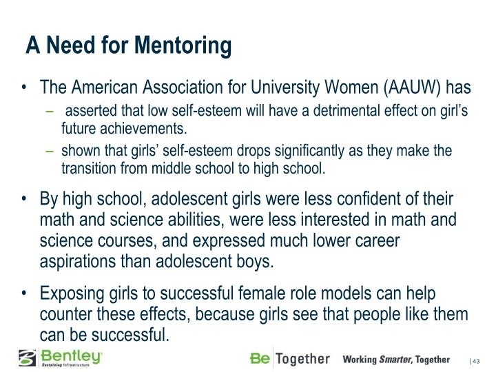 A Need for Mentoring