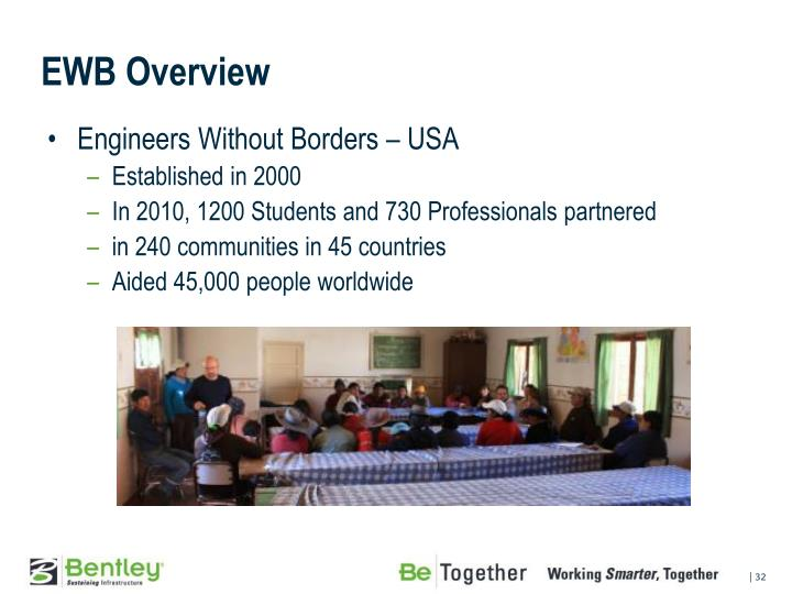 EWB Overview
