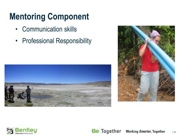 Mentoring Component