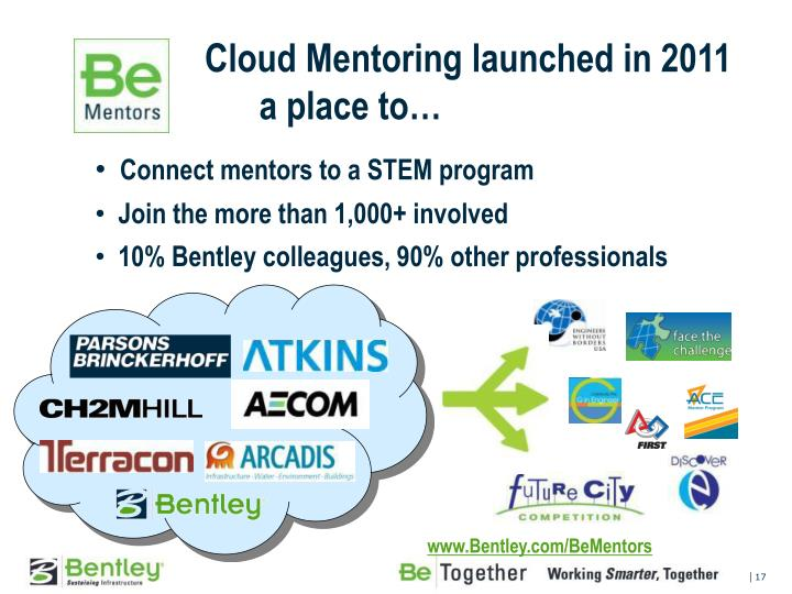 Cloud Mentoring launched in 2011