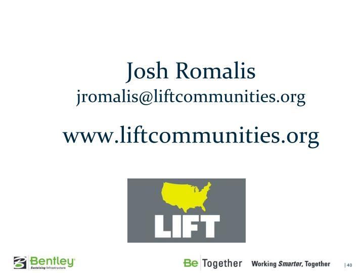 Josh Romalis