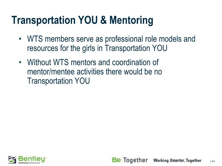 Transportation YOU	& Mentoring