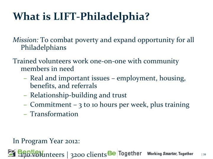What is LIFT-Philadelphia?