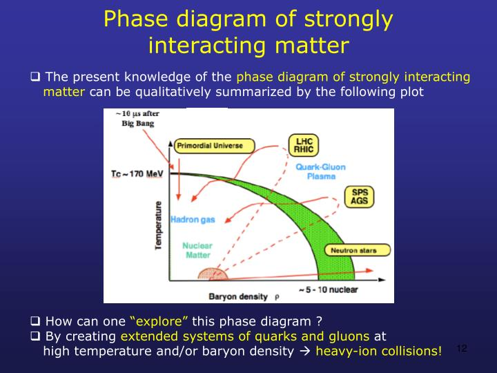 Phase diagram of strongly