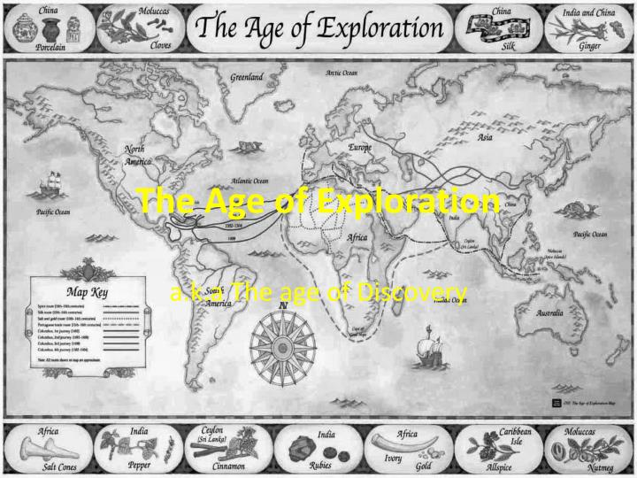analysis of the age of exploration