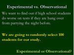 experimental vs observational1