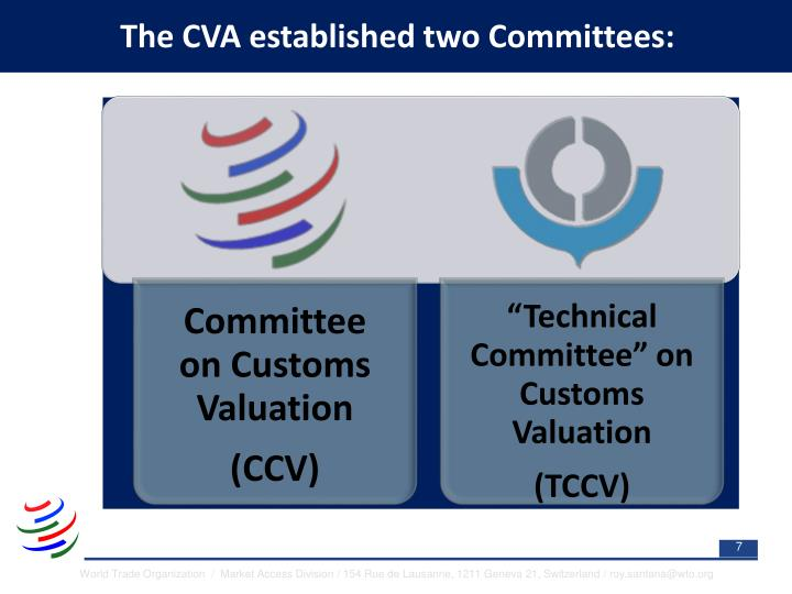 The CVA established two Committees: