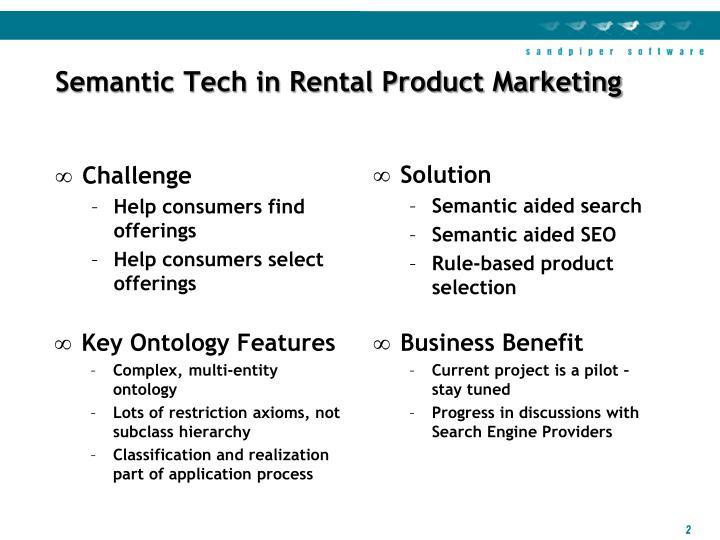 Semantic Tech