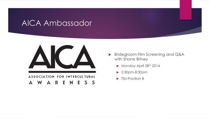 AICA Ambassador
