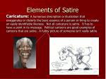 elements of satire5