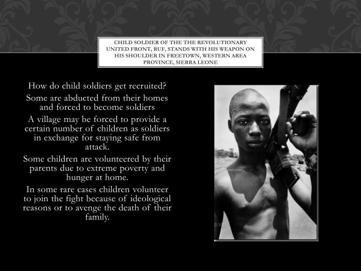 child soldier of the