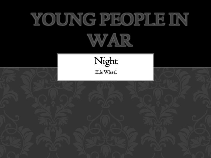 Young people in war