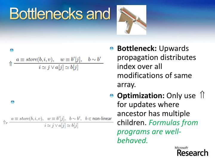 Bottlenecks and