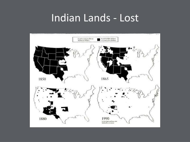 Indian Lands - Lost