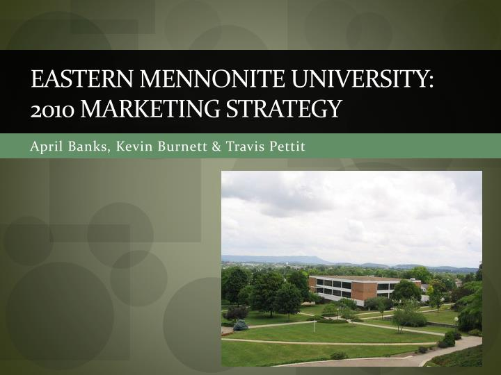 University marketing strategy