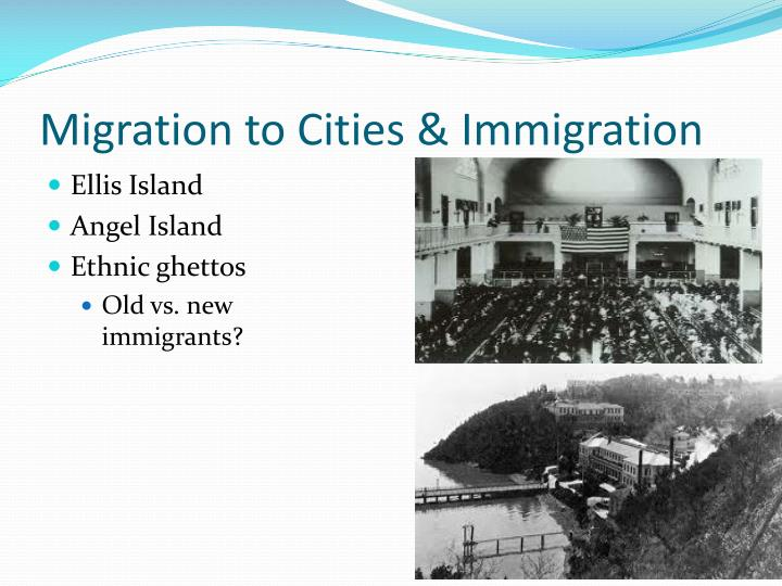 Migration to cities immigration