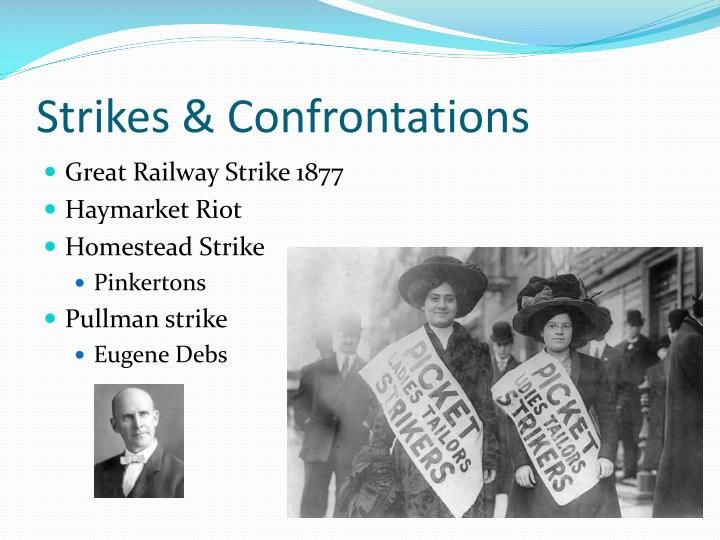 Strikes & Confrontations