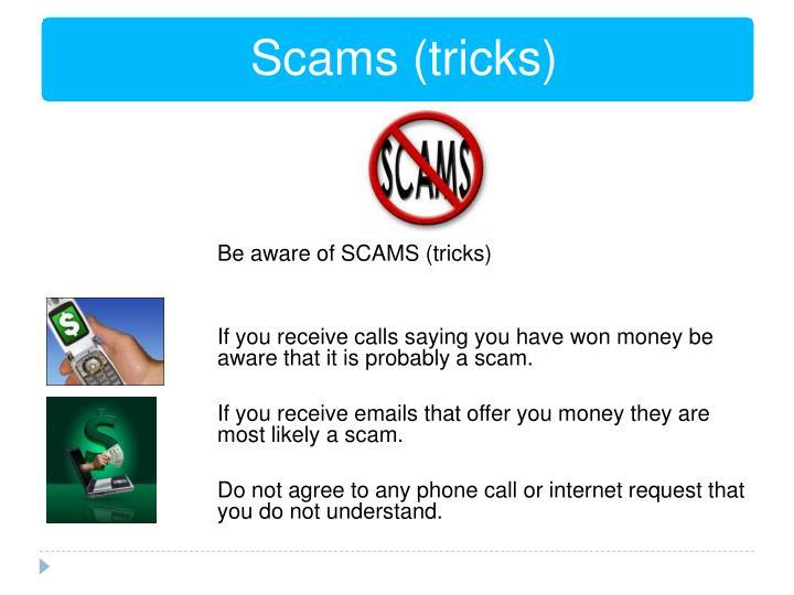 Scams (tricks)