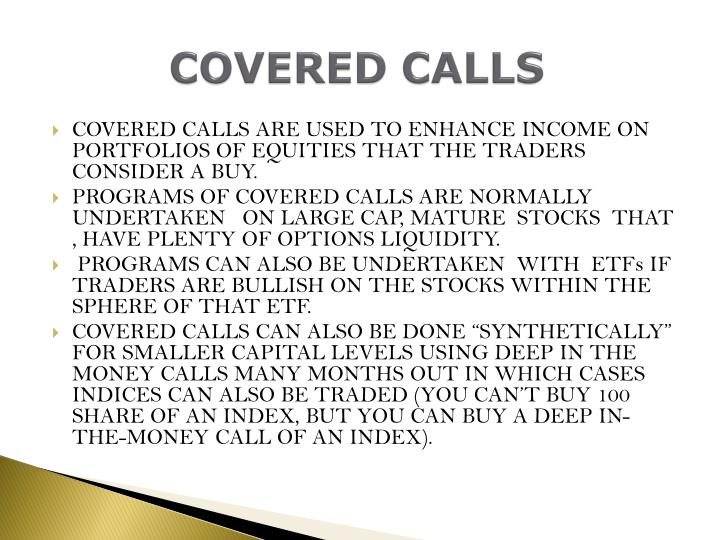 Covered calls