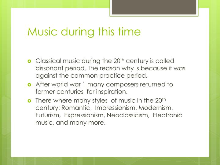 th evolution of music throughout time Musicmap attempts to provide the ultimate genealogy of popular music genres, including their relations and history it is the result of more than seven years of research with over 200 listed sources and cross examination of many other visual genealogies.