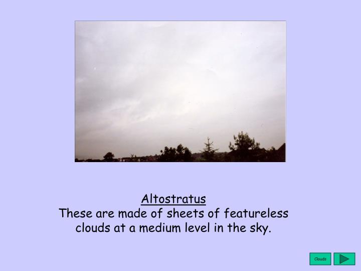 Altostratus