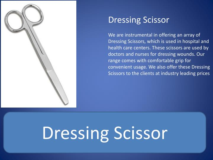 Dressing Scissor