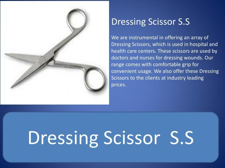 Dressing Scissor S.S