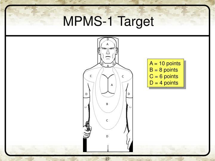 MPMS-1 Target