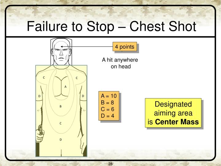 Failure to Stop – Chest Shot