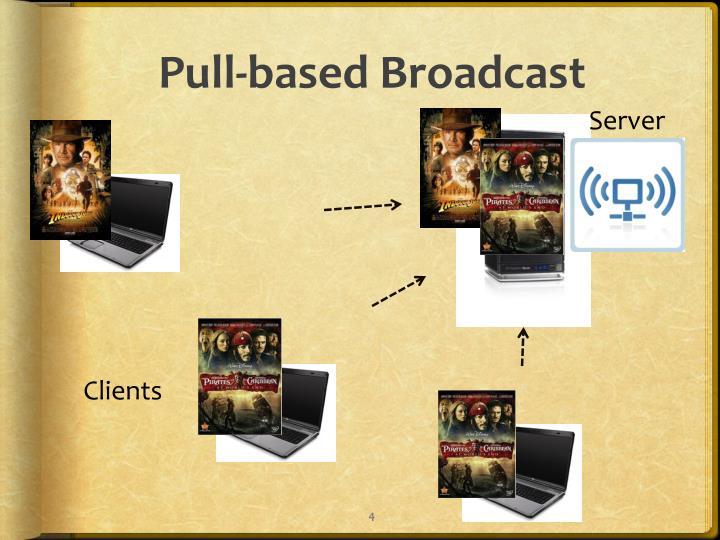Pull-based Broadcast