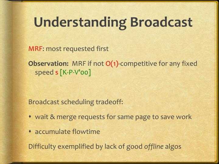 Understanding Broadcast