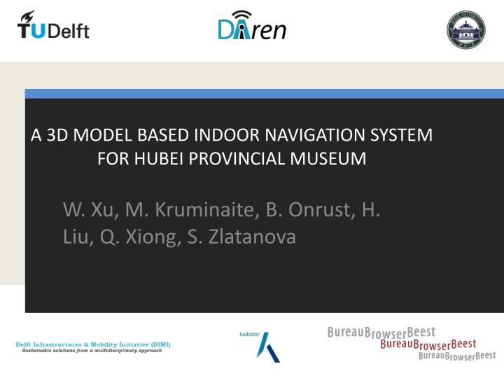 A 3D MODEL BASED INDOOR NAVIGATION SYSTEM FOR HUBEI PROVINCIAL MUSEUM