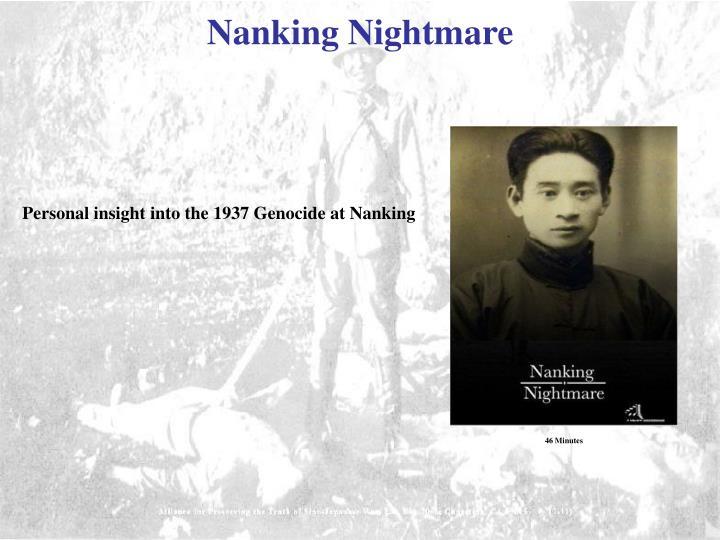 Nanking Nightmare