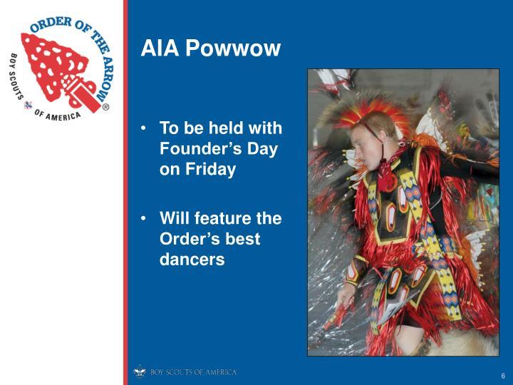 AIA Powwow