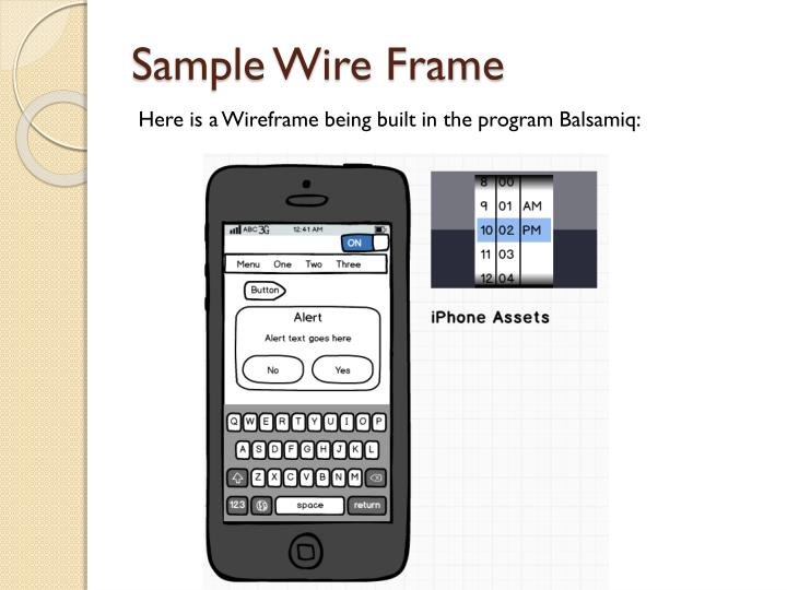 Sample Wire Frame